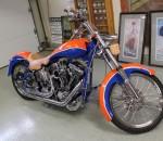 Tim Tebow Autographed Florida Gators NCAA Championship Custom Motorcycle