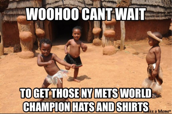 Waiting for MEts shirts