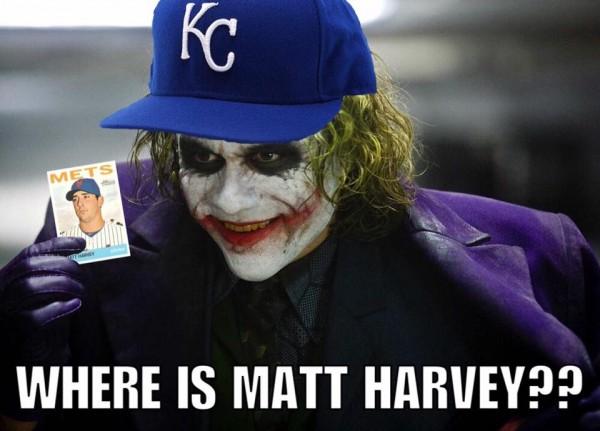 Where is Matt Harvey