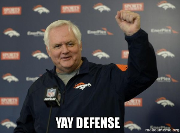 Yay defense