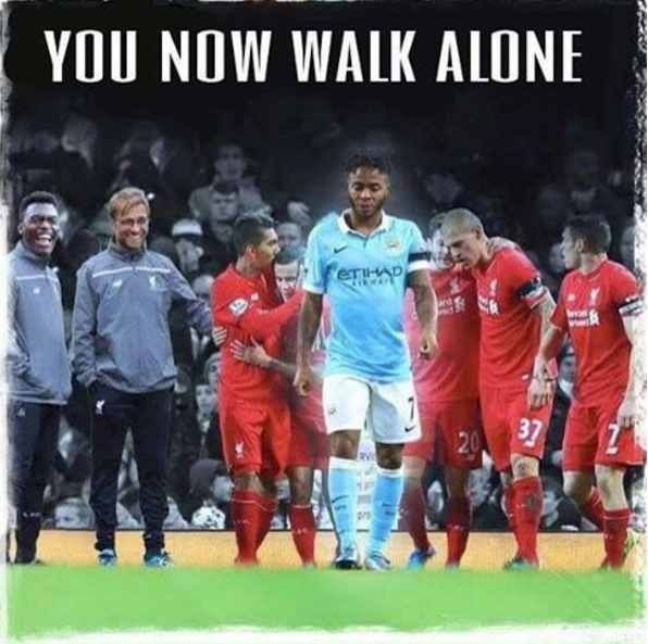 You now walk alone