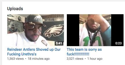 Youtube uploads
