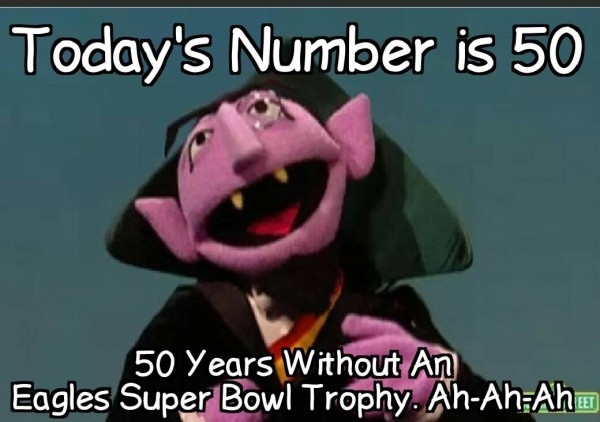 50 years no Super Bowl