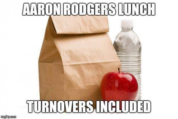 Aaron Rodgers Lunch