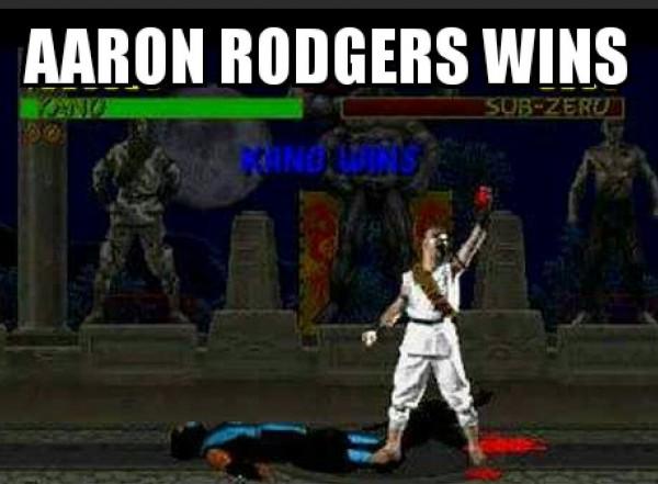 Aaron Rodgers Mortal Kombat