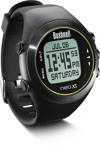 BUshnell Neo XS GPS Golf Watch Black & Yellow