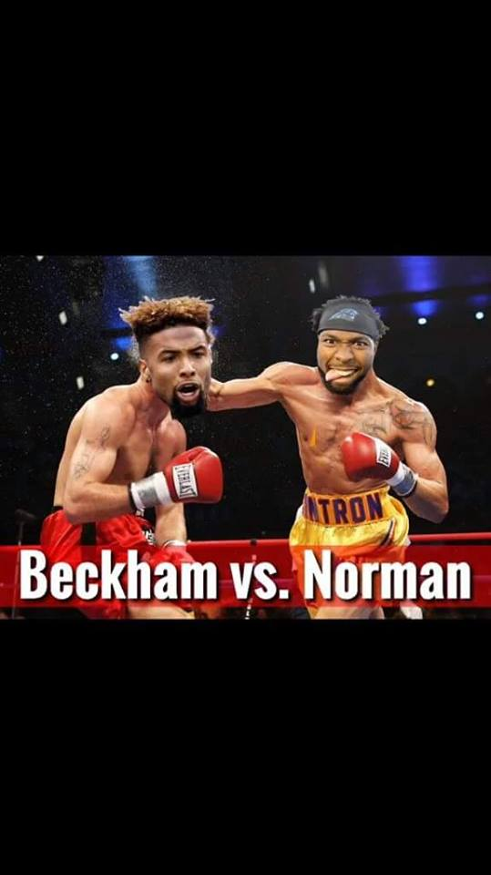 Beckham vs Norman
