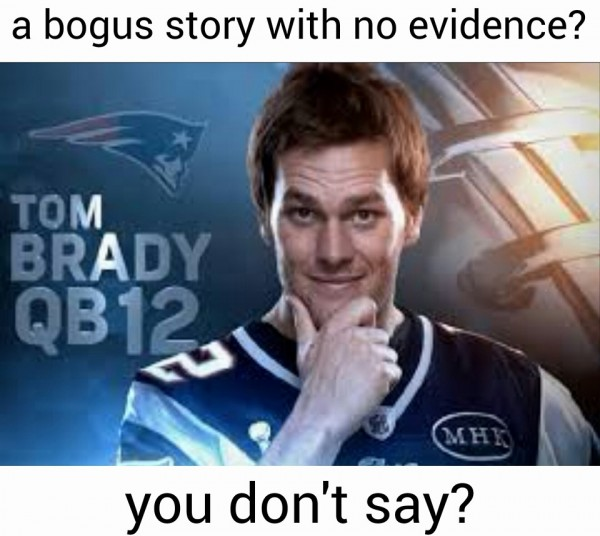 Bogus, no evidence
