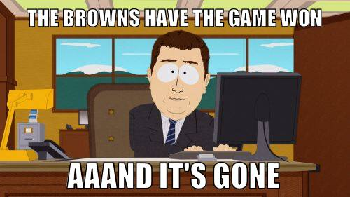 Latest Sports News 26 Best Memes Of The Cleveland Browns Finding New Ways To Lose Against The Baltimore Ravens