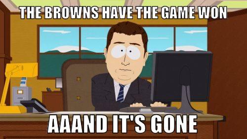Browns lose