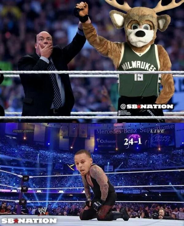 Bucks end the Streak