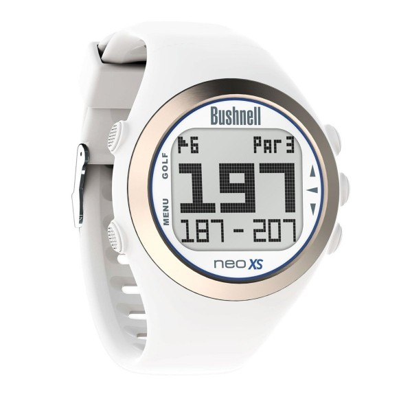 Bushnell Neo XS GPS Golf Watch White & Blue
