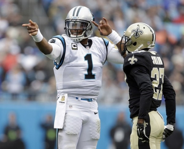 Cam Newton vs Saints