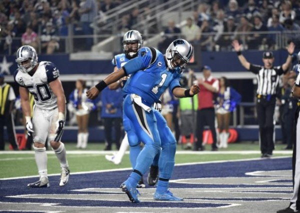 Carolina Panthers touchdown
