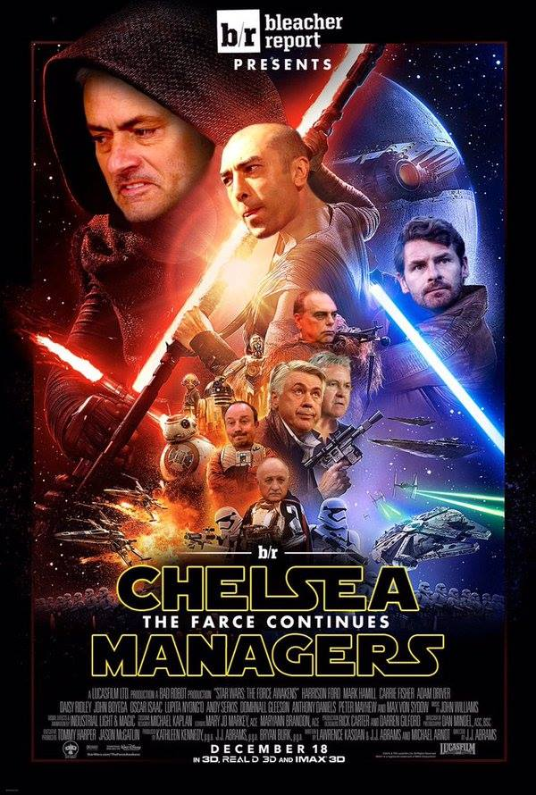 Chelsea Star Wars Poster