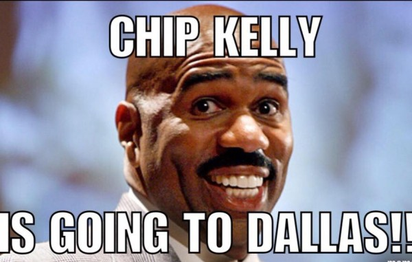 Chip Kelly is going to Dallas