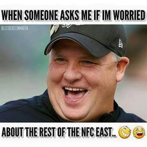 Chip Kelly isn't worried