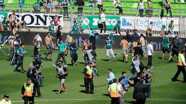Colo Colo, Santiago Wanderers Hooligans