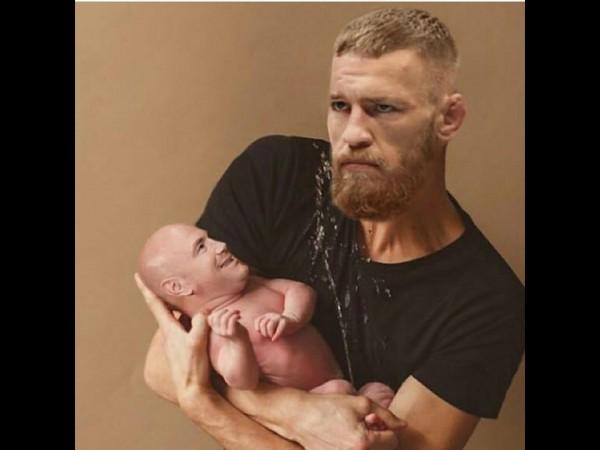 Conor & baby Dana
