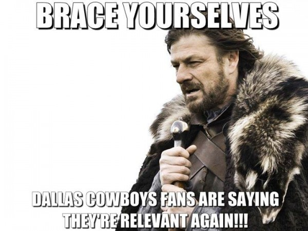 Cowboys Fans are Coming