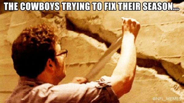 Cowboys fixing the season