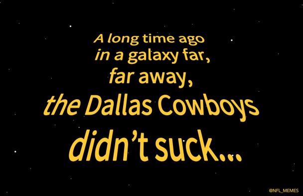Cowboys in a galaxy far away
