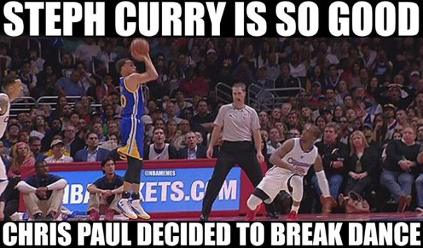 Curry Paul Breaking Ankles