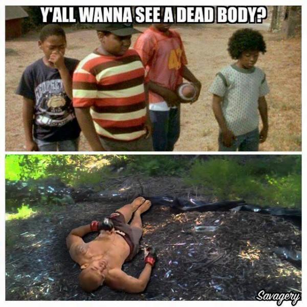 Dead body MMA
