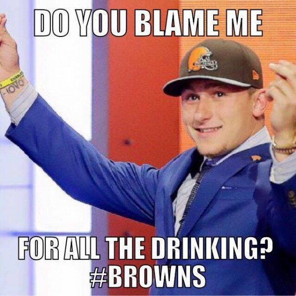 Don't blame Johnny