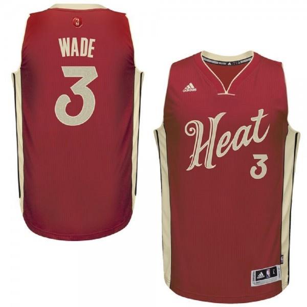 new concept 81a4a a4dc9 Dwyane Wade Miami Heat Christmas Jersey - Sportige