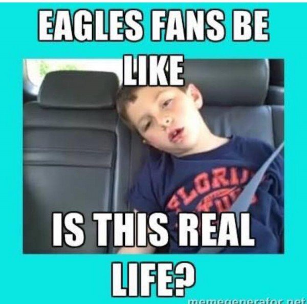 Eagles fans real life