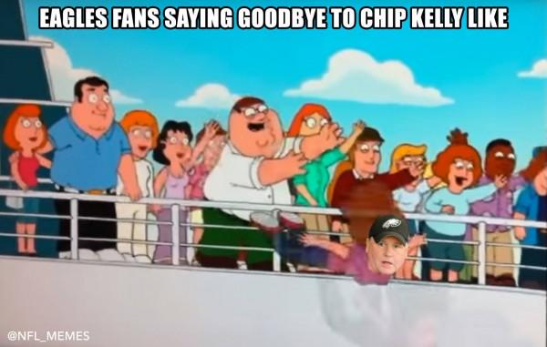 Eagles fans saying goodbye