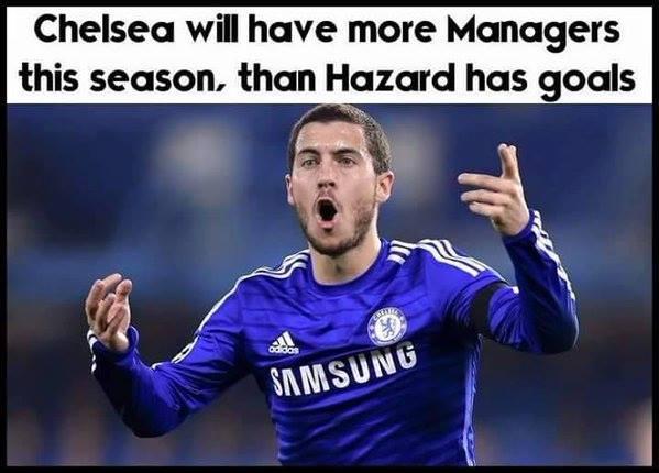 Eden Hazard no Goals