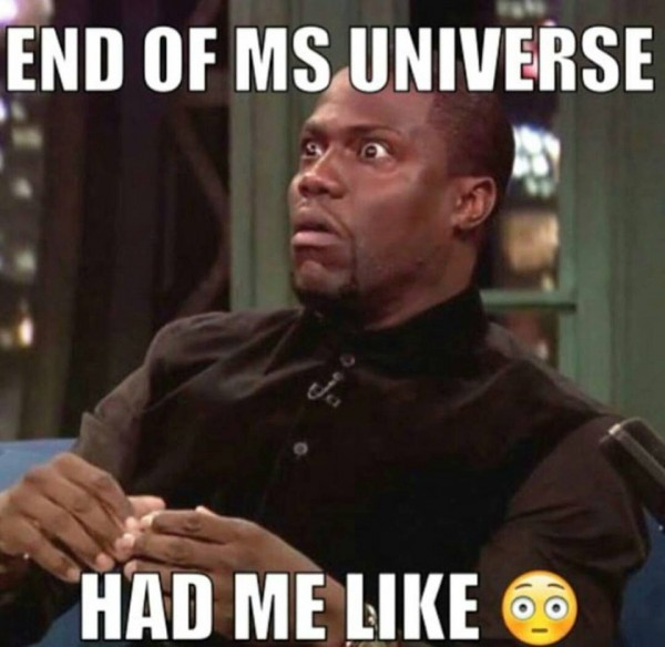 End of miss Universe