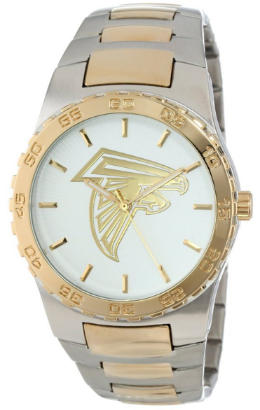 Game Time Men's NFL Two-Tone Executive Watch Atlanta Falcons