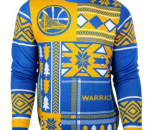Golden State Warriors ugly Christmas sweater