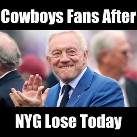 Happy Cowboys fan