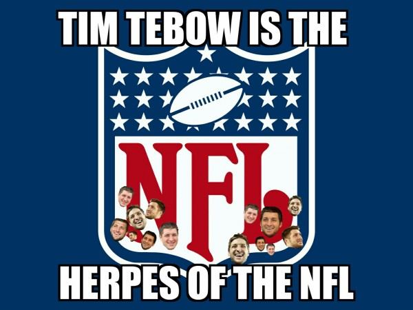 Herpes of the NFL