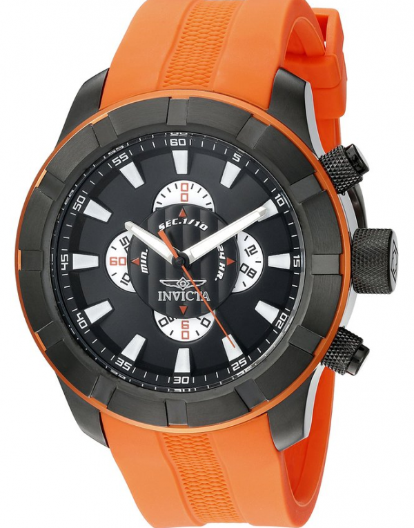 Invicta Men's Orange Rally Watch