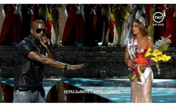 Kanye Miss Universe