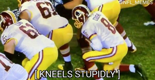 Knees stupidly