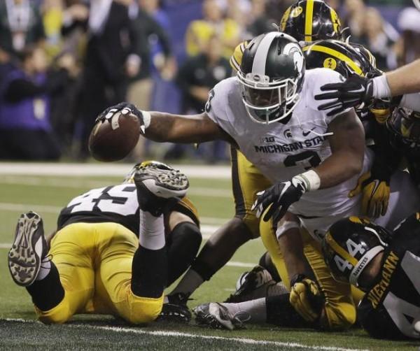 L.J. Scott touchdown