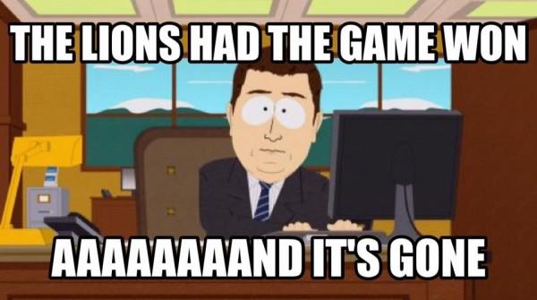 Lions Southpark meme