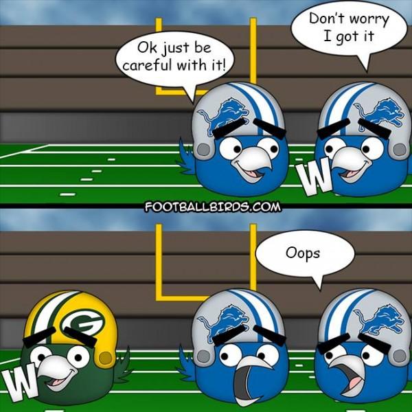Lions lose W