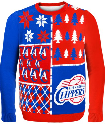 Los Angeles Clippers Ugly Christmas Sweaters