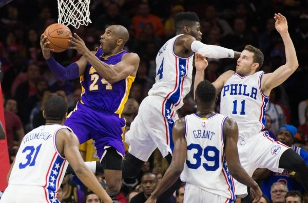 Los Angeles Lakers, Philadelphia 76ers