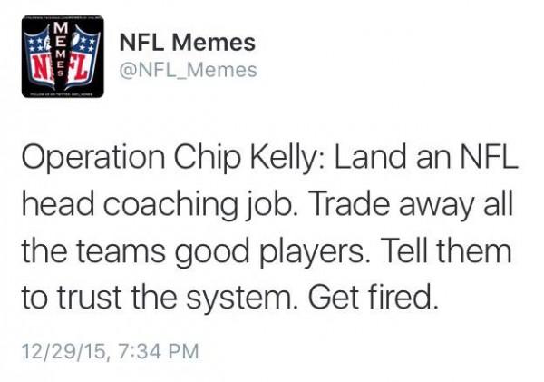 NFL Memes Tweet