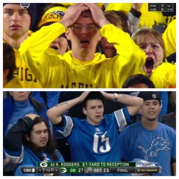 Oh no Lions fan