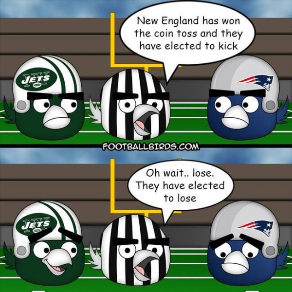 Patriots Coin Toss