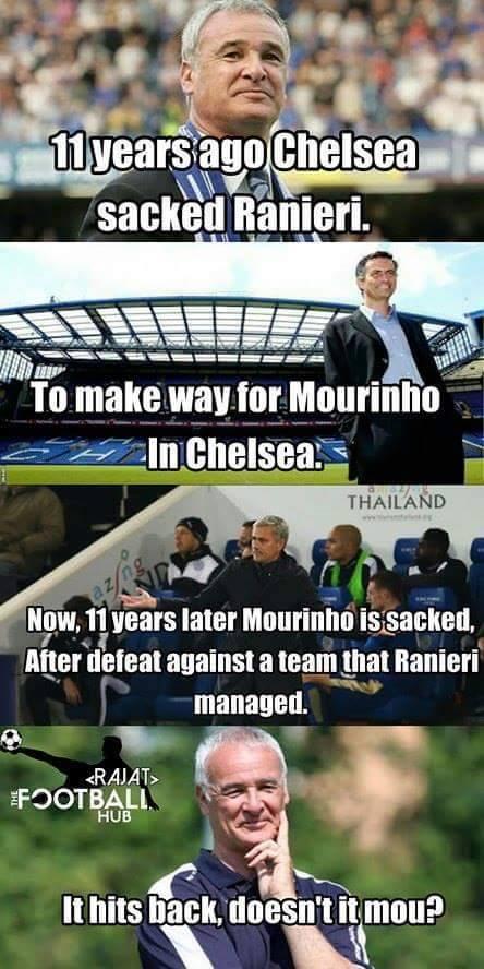 Ranieri & Mourinho